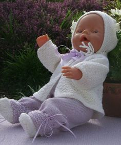 Free Baby Annabell Knitting Patterns : Dolls Clothes on Pinterest Doll Clothes, Baby Dolls and Doll Clothes Patterns