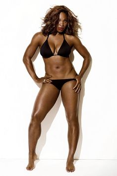 This is the body image women should be working for! Not the too skinny model look!!