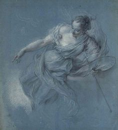 Allegorical Figure of Painting, Charles Antoine Coypel (French, Paris 1694–1752 )