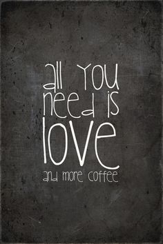 love & coffee