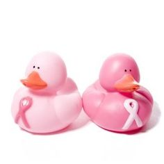 Rubber ducks think pink!!