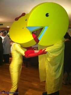 Pacman and Ms Pacman