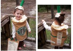 Iced Caramel Macchiato costume - ba ha ha ha!!