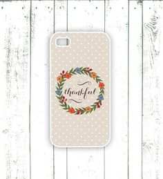 Thanksgiving iPhone Case  Quote iPhone Case by MooseberryCases, $18.00