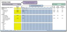 Cash-Flow Budget: Expenses    the BEST dave ramsey budget spredsheet I've found! and it's FREE!