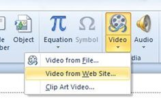 How to embed YouTube clips into PowerPoint