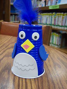 Bluebird cup