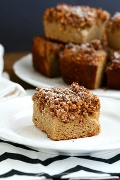 Coconut Flour Coffee Cake from @Deliciously Organic - if it's as good as her coconut flour muffins, I'm going to love it!
