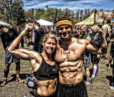 CRUSH your next Tough Mudder and build a lean, ridiculously strong body in the process with this 3-workout training plan. It includes 3 separate workouts — upper, lower + HIIT, and abs + distance cardio — to build an elite, strong body in as little as 4 weeks. GET TO IT!