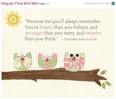 Baby Girl Nursery Decor Nursery Wall Art Children by DesignByMaya, $13.60