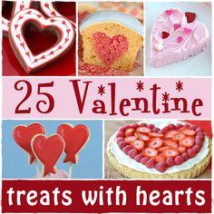 25 Valentine Treats with Hearts | sugarkissed.net