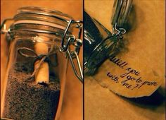 Message in a bottle. Will you go to prom with me? Prom asking idea. I want this!