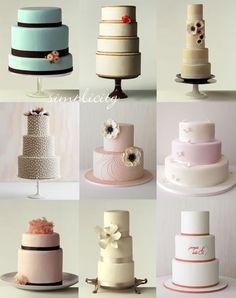 Cakes, cakes cakes...