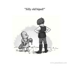 'Silly old biped!' 'Wookiee The Chew - The House At Chew Corner'