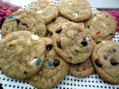 funfetti cake batter chocolate chip cookies
