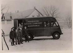 Missouri State Library Bookmobile, 1940s.