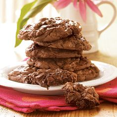 100 Hottest Holiday Cookies  | Brownie Cookies | MyRecipes.com