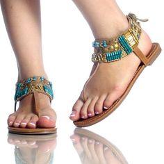 Fresh Flat Vintage Sandals