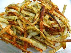 I Believe I Can Fry: Baked Rosemary Garlic Fries (Vegetarian/Vegan)