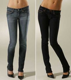 Turn Old Jeans into Skinny Jeans: http://www.threadbanger.com...