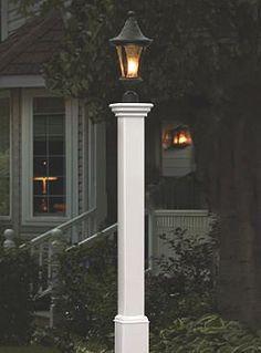 lighting arbors madison house gardens lamps post england arbors. Black Bedroom Furniture Sets. Home Design Ideas