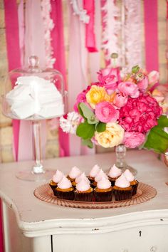 Pretty in Pink Spring Table  |  erin johnson photography pink desserts, baby shower desserts, dessert tables, erin johnson, dessert ideas, pink cupcakes, bridal showers, baby showers, pink parties