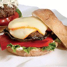 Chaumes Cheese and Grilled Portobello Mushroom | #Delicious #Recipe