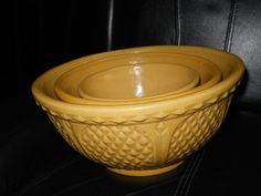 Pottery Mixing Bowls Roseville Ohio Bowls
