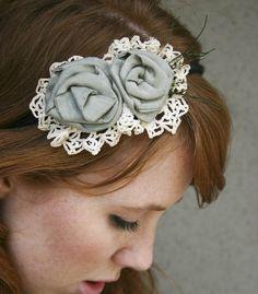 i love flower headbands