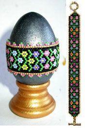 Flower Frolic Egg Wrap & Bracelet