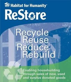 Habitat for Humanity Restore. Building homes... Changing lives... in Washtenaw County