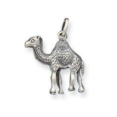Sterling Silver Antiqued Camel Charm Real Goldia Designer Perfect Jewelry Gift goldia. $25.60