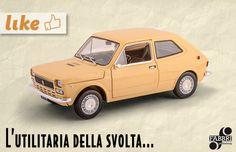 Un altro modello senza tempo della nostra storia: #Fiat 127 (1971)! #edicola #collezione #auto #vintage