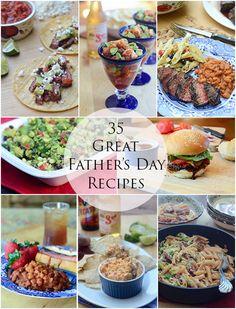 fathers day menu uk