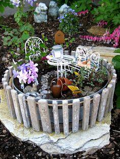 petite fairy garden