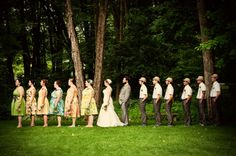 fun, non-blah wedding party poses! | Offbeat Bride