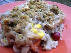 Turkey Pot Pie With Stuffing Crust (Using Leftovers).