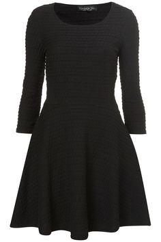 little black winter dress