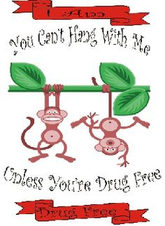 Red Ribbon Week: You Can't Hang With Me Unless You're Drug Free