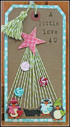 A Little Love 4u - Scrapbook.com    Christmas Tag
