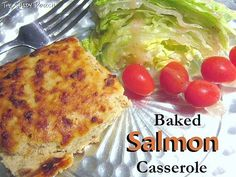 Baked Salmon Casserole is a perfect weeknight supper: quick assembly, with the aid of a blender or food processor, and it tastes great, too.