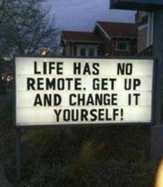 Change it yourself!