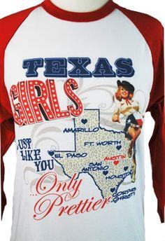 Texas Girls Tee  http://www.shadyandkatie.com/store/texas-girls-tee/dp/4080