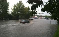 Flooding At Star Ranch Road And Highway 115