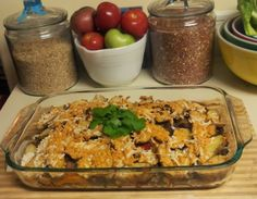 Seitan Veggie Casserole but I'm going to use Upton's Bacon Seitan! #vegan