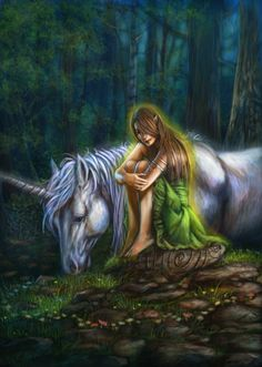 Deep in the green of the forest of Tylwr:  I know she is waiting, my Seren Annwyl.  Pensive in sunlight and bonded in silver;  Auraed in magic she walks where she will
