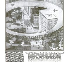 Once upon a time, New Yorkers envisioned landing their personal planes on circular runways: http://goo.gl/9teTk