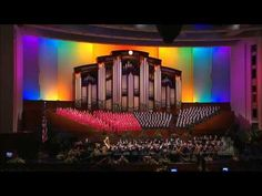 """Over the Rainbow"" by the Mormon Tabernacle Choir    More LDS Gems at: www.MormonLink.com"