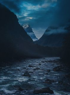 Navigating across the rivers of New Zealand in the morning mists photo from #treyratcliff Trey Ratcliff at www.StuckInCustom... - all images Creative Commons Noncommercial