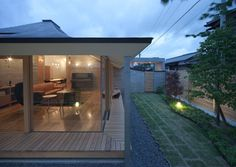 Broken Pitched Roof by NKS Architects